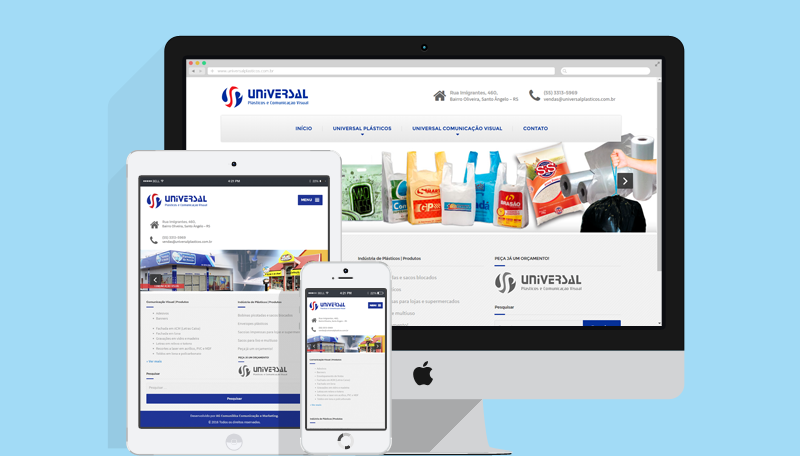 Sites para Negócios